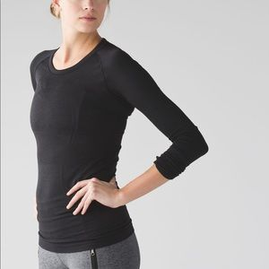 Lululemon swiftly tech black long sleeve